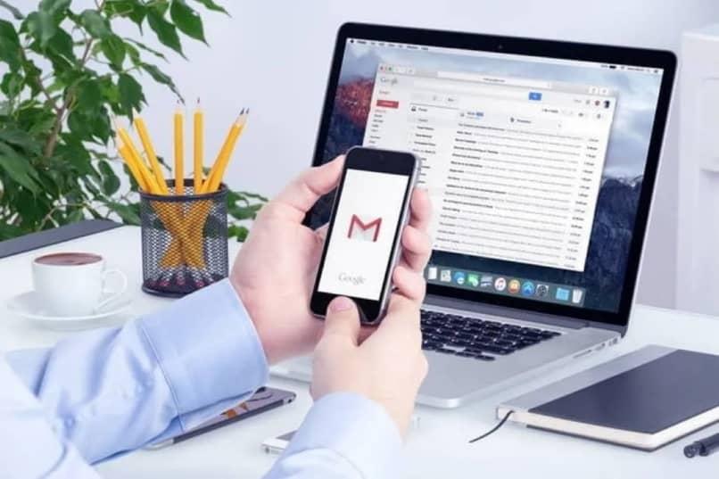 gmail diferentes didpositivos