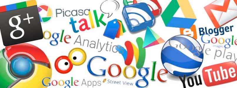 servicios google asociados gmail