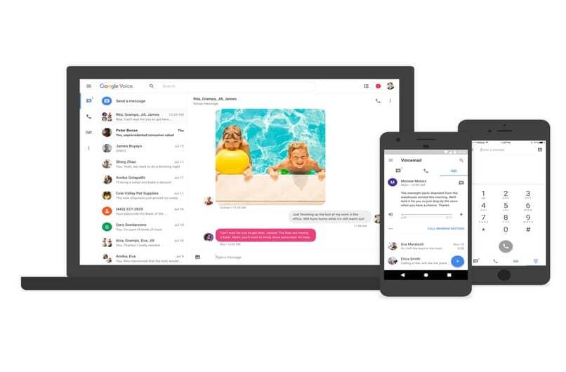 conecta varios equipos a google voice