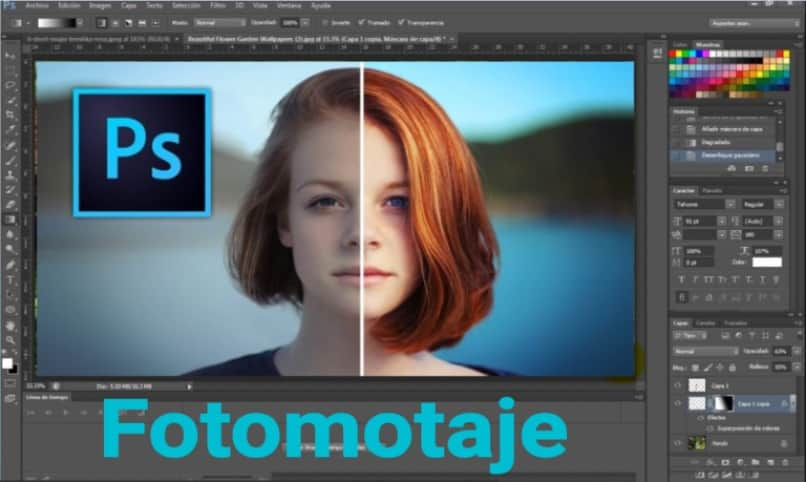photomontaje con photoshop