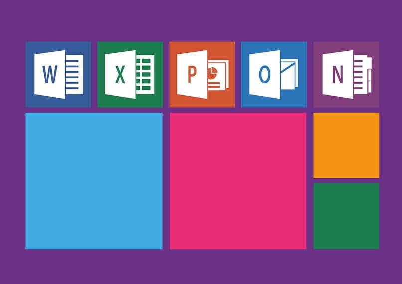 iconos de programas de microsoft