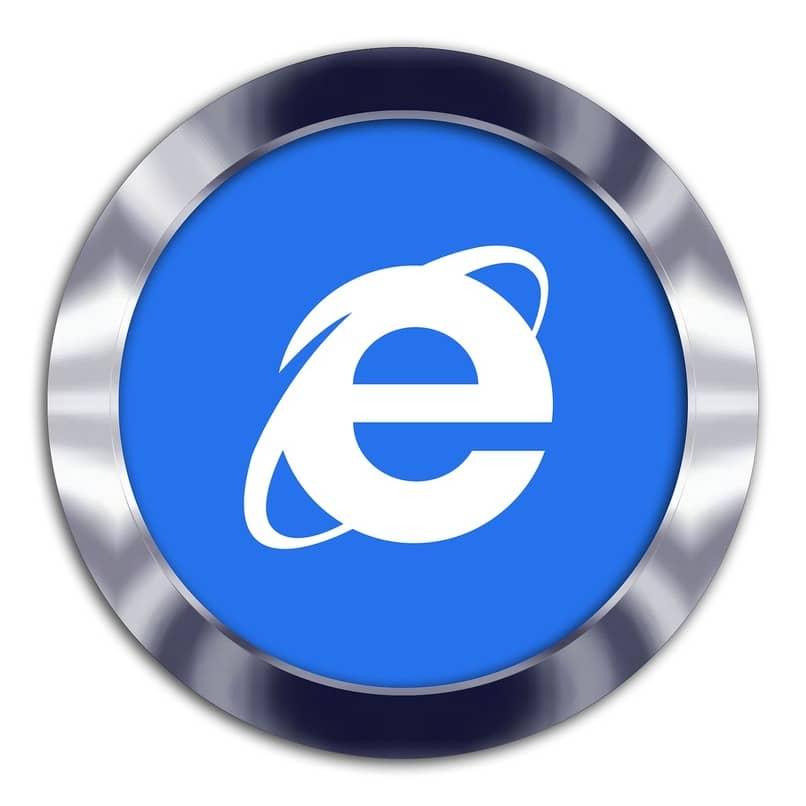 logo de el buscador internet explorer