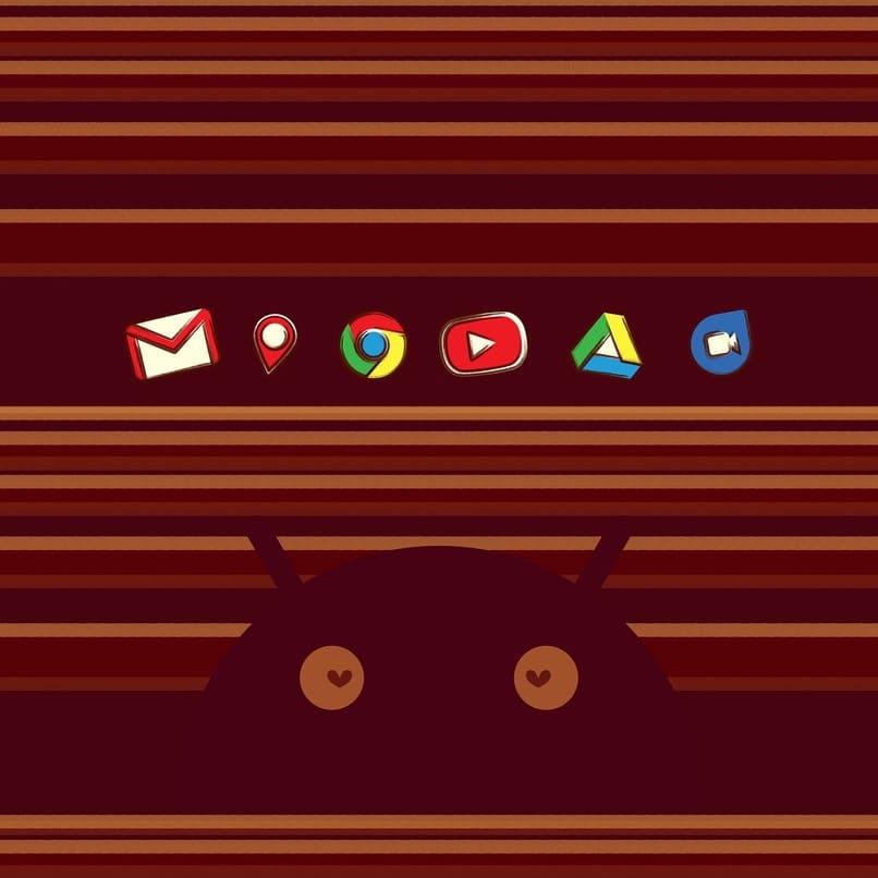 iconos de varias aplicaciones