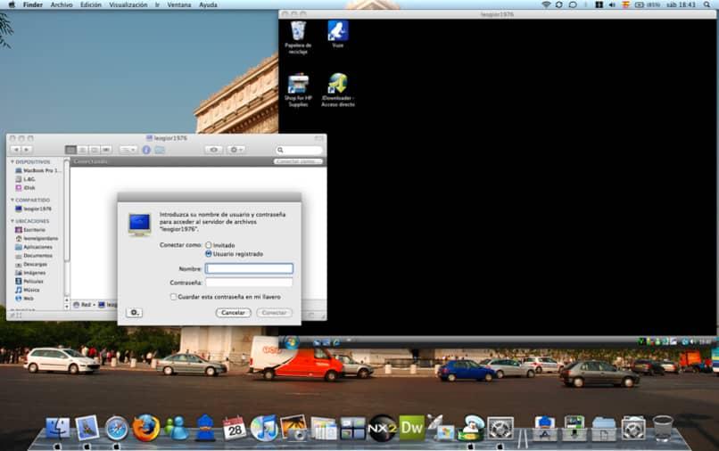 usuario iniciando sesion en windows como usuario