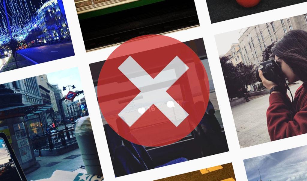 Prohibiciones en Instagram