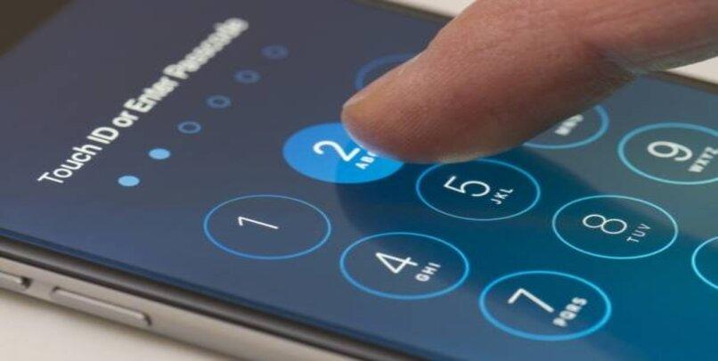 cambiar contraseña iphone