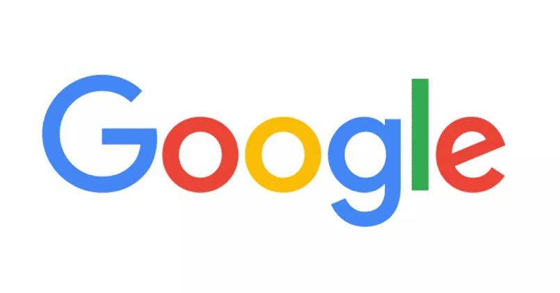 logo original de google fondo blanco