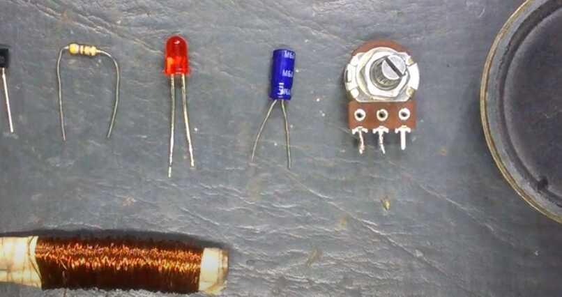 materiales para hacer un detector de metales casero