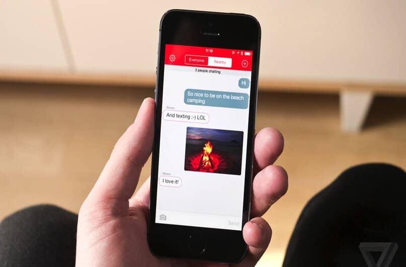 firechat aplicacion de mensajes instantaneo