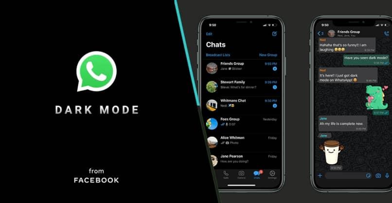 Activa el modo oscuro de whatsApp desde tu iPhone o android