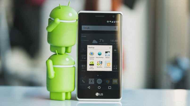 logo android celular wallpaper verde