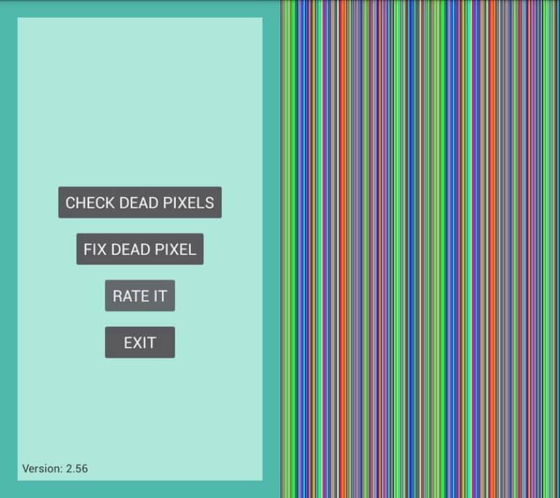 programa dead pixels test and fix prueba pixeles muertos