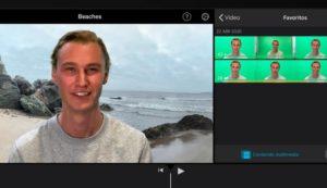 Quitar audio de video con iMovie