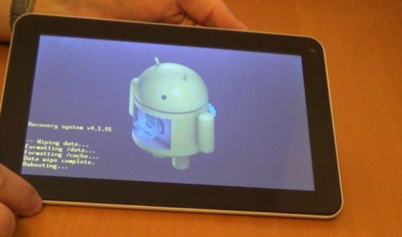 hacer hard reset tableta android