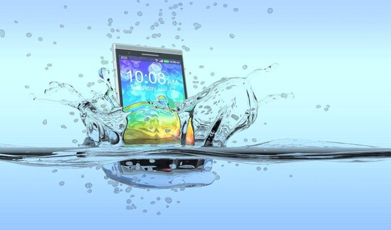 restablecer telefono mojado