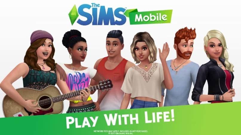 imagen principal de the sims mobile