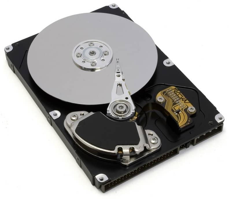 disco duro muestra