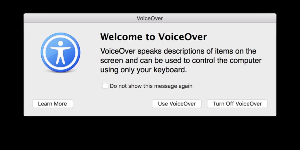 VoiceOver en Mac
