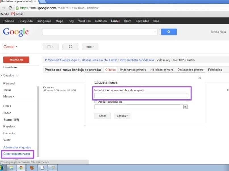 Crear y Eliminar Filtros con Etiquetas para Organizar Gmail