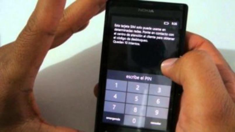codigos en pantalla para desbloquear movil nokia