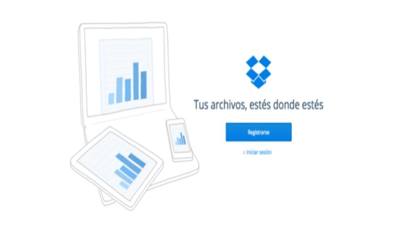 servicios dropbox web