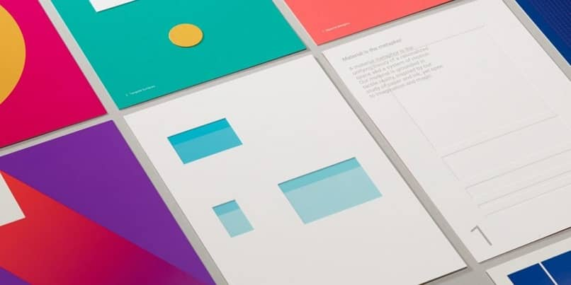 abriendo material design