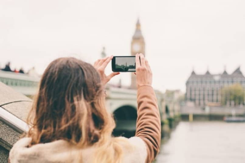 foto exterior con iphone