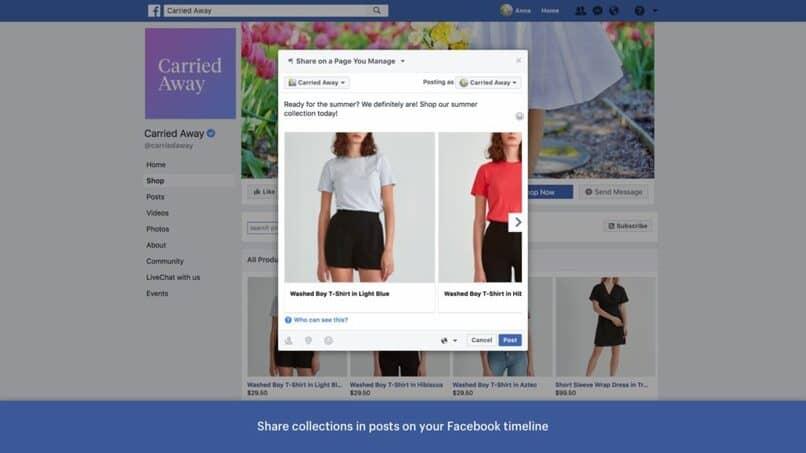 remplaza el perfil de facebook
