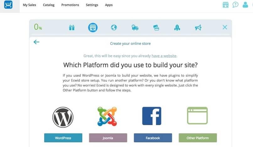 app para crear una tienda online
