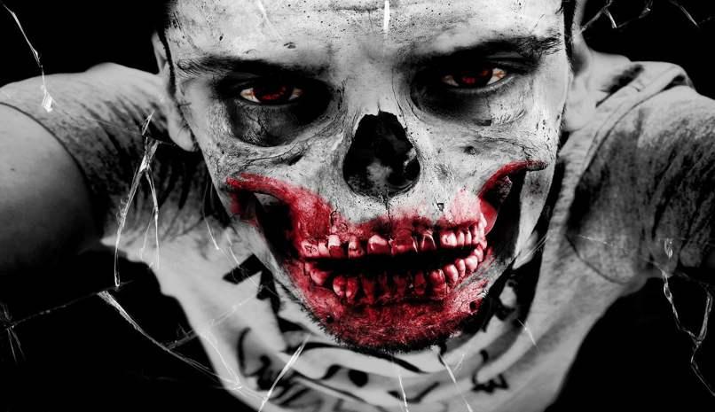 tutorial photoshop zombie