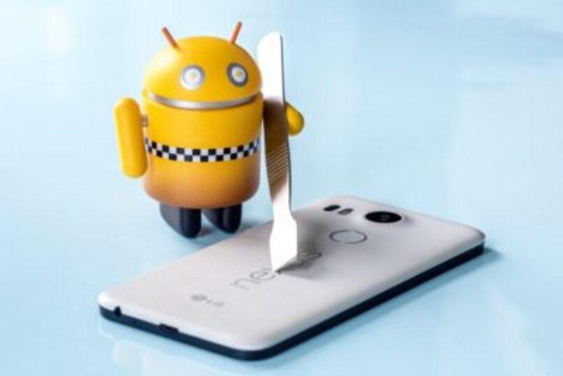 android reparando movil
