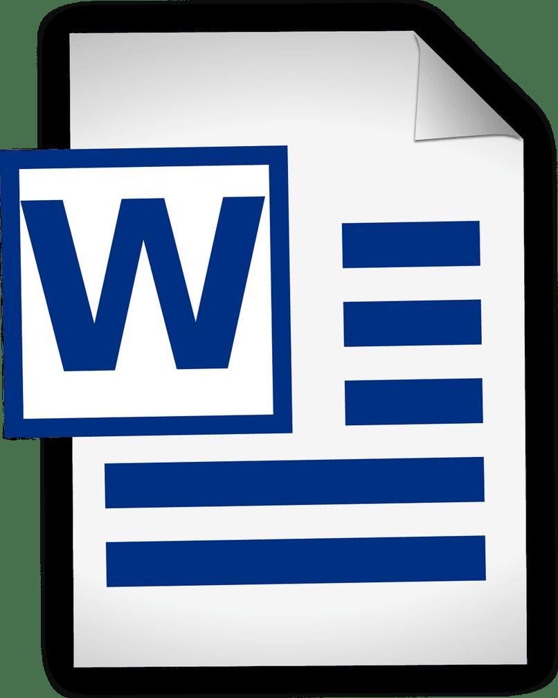 archivo de word