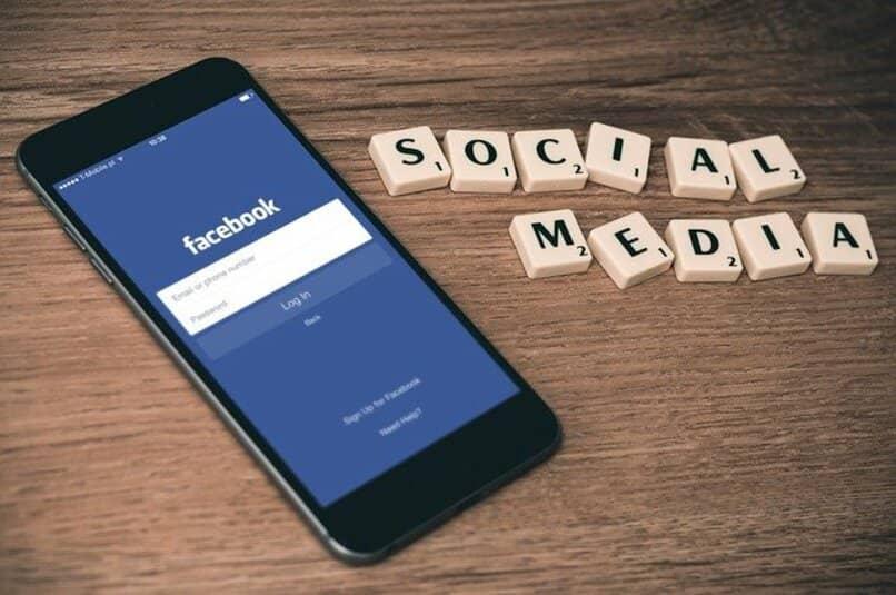 Apartado de Facebook para ingresar tu usuario y contraseña