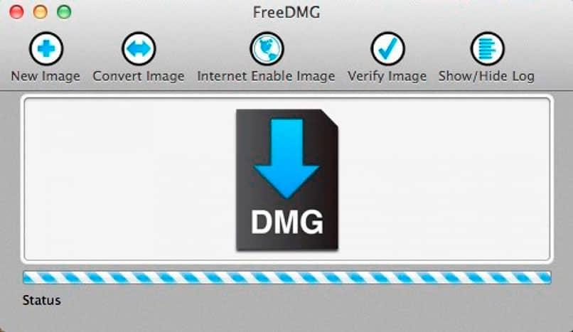 archivos dmg descargados en windows