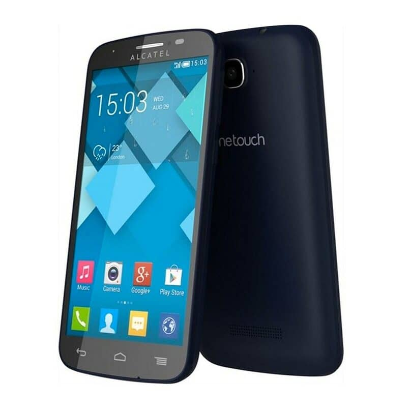 hard reset en alcatel one touch pop
