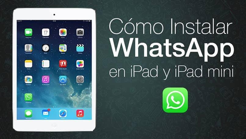 instalar whatsapp en ipad