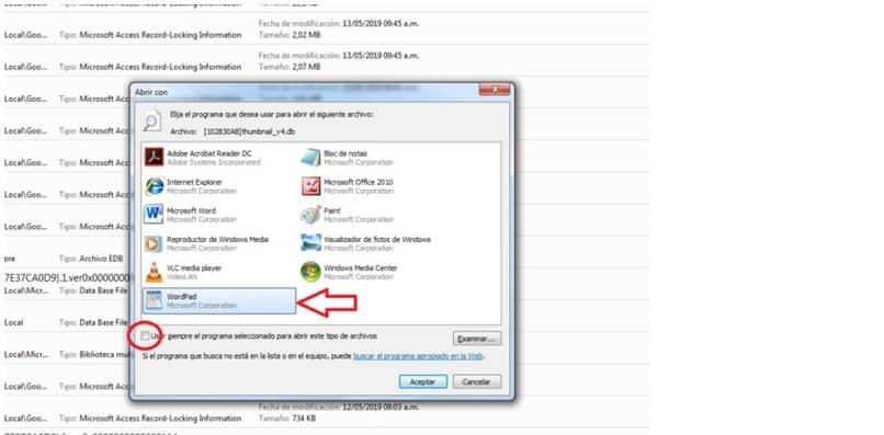 tutorial para abrir archivos y base de datos db en microsoft office access