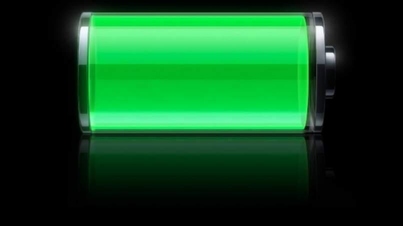 bateria movil con carga