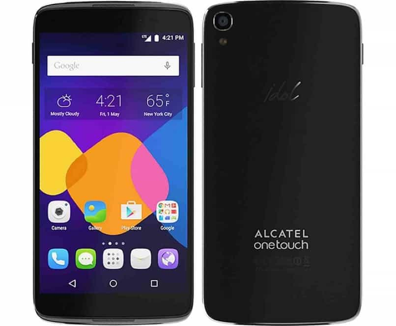 alcatel one touch negro