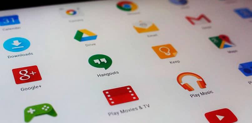 Iconos de Google y Gmail