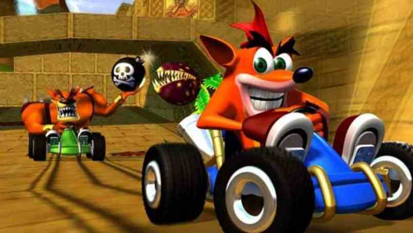 juego carrera crash team racing