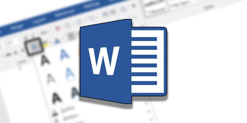 documento word wallpaper logo azul
