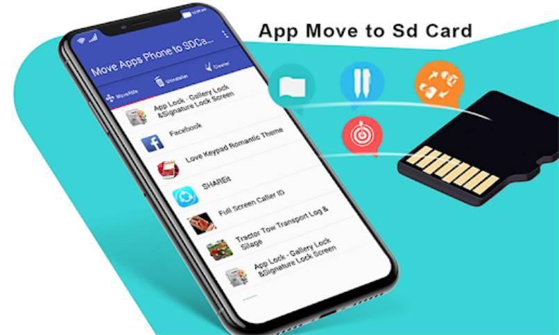 aplicaciones mover a tarjeta micro sd