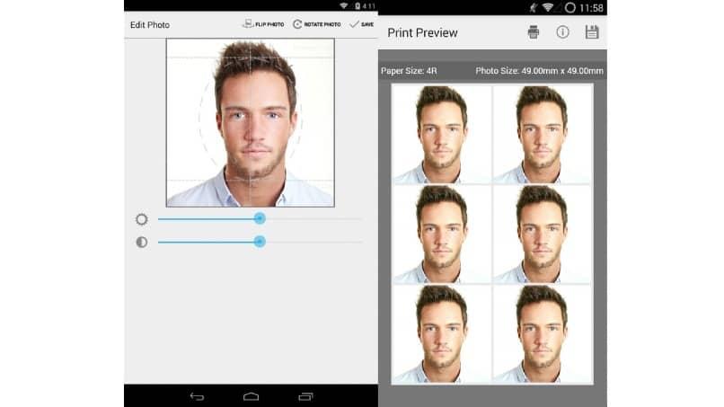 aplicacion para fotos de pasaporte