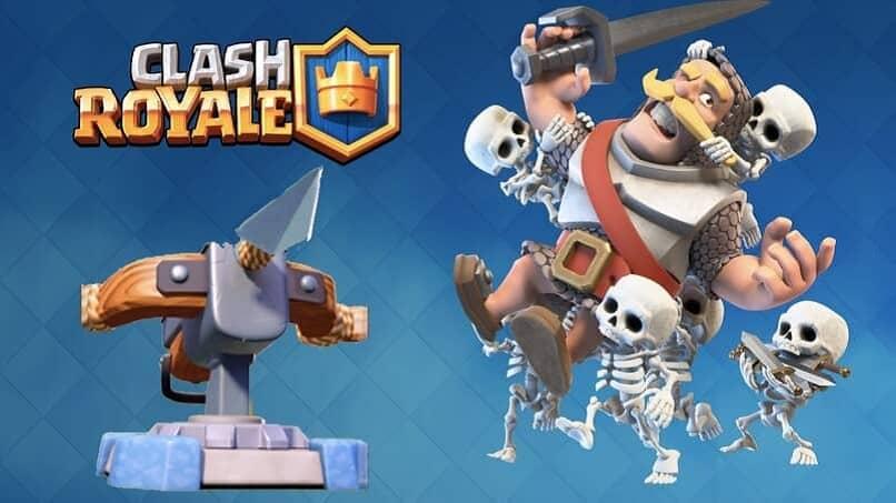 personajes animados del videojuego clash royale