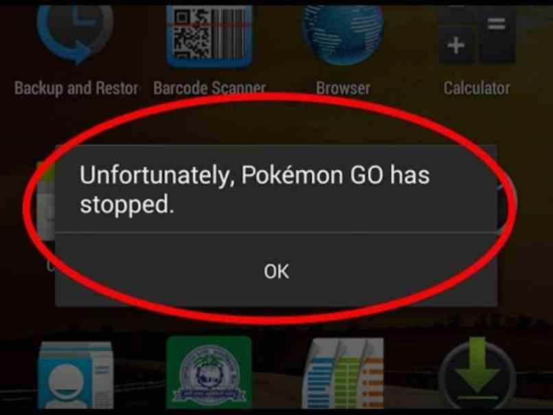 error comun android pokemon go se ha cerrado