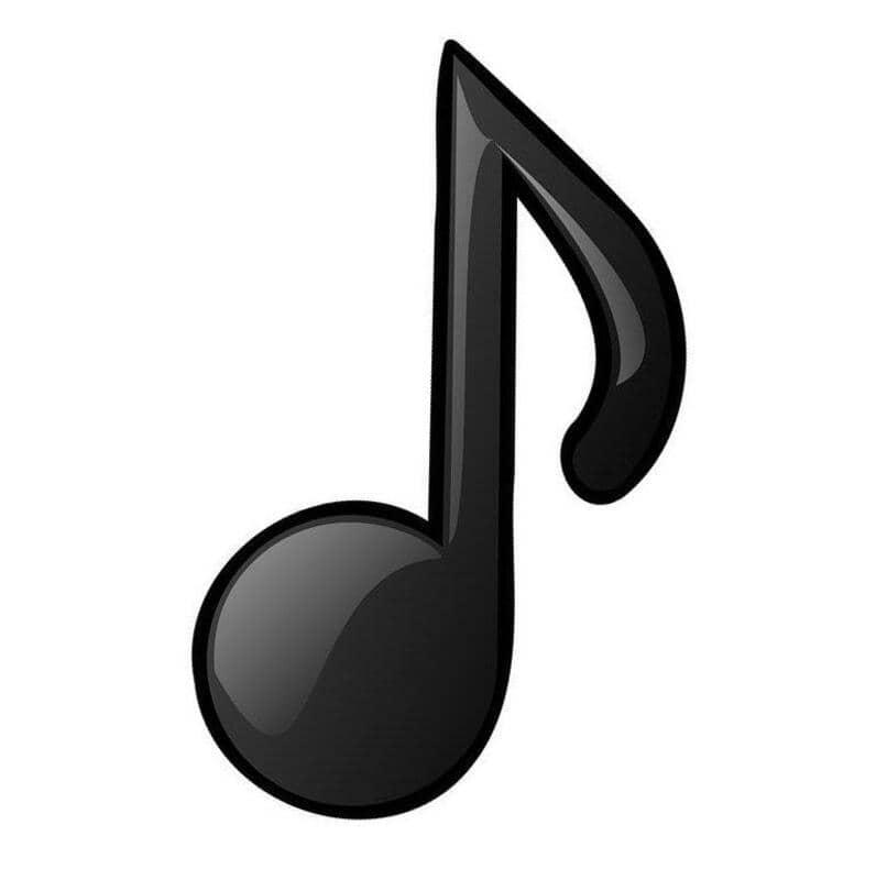 como hacer el simbolo de musica en facebook