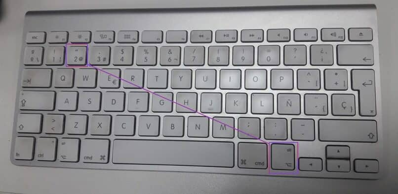 aprende a escribir en mac el arroba