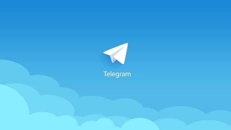 telegram fondo azul papalote volando