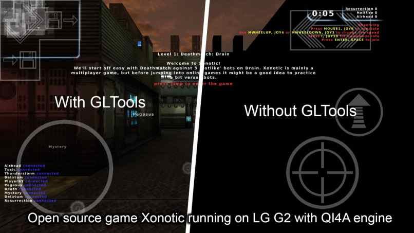 gltools aplicacion funcionamiento comparacion app